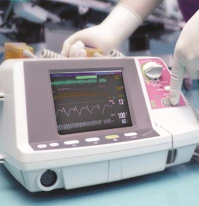 medical device monitoring vitals