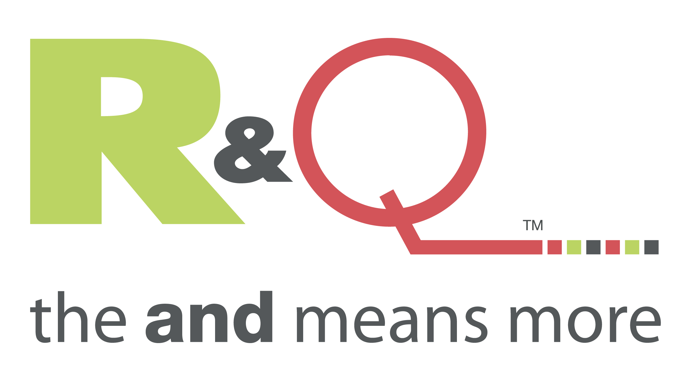 R&Q logo — The and means more